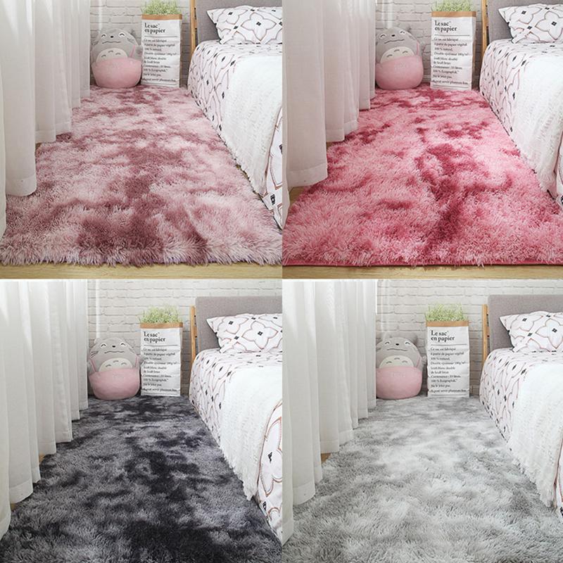 Karpet Kamar Tidur Ruangan Rumah Nordik Penuh Cantik Mewah Selimut Samping Tempat Tidur Jaring Ruang Tamu Merah Jenis Sama Keset Lantai