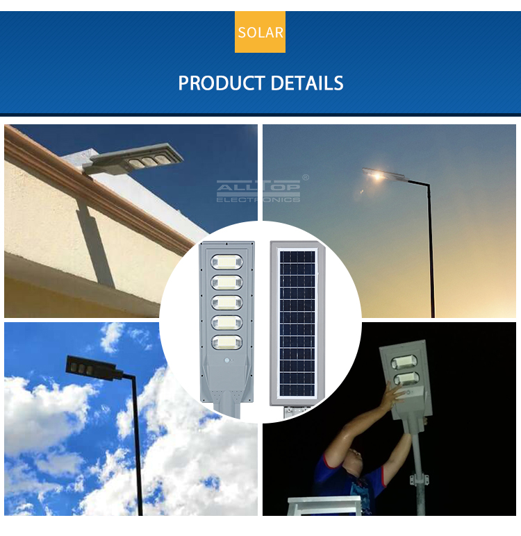ALLTOP solar street light with panel and battery best quality manufacturer-19