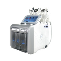 Magic plus 6 in 1 Hydro Microdermabrasion Machine/ multi-functional beauty equipment personal salon facial machine