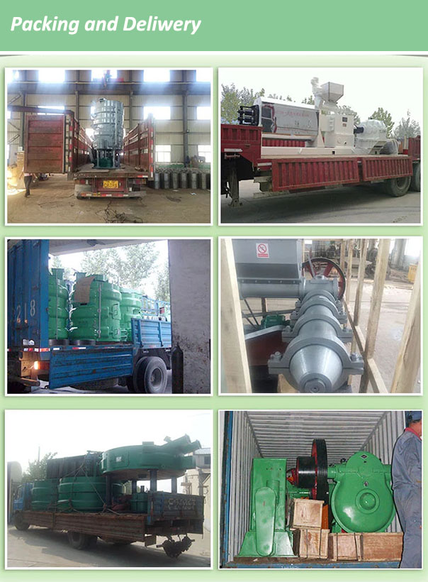 high capacity raw material cotton seeds oil press machine for oil production