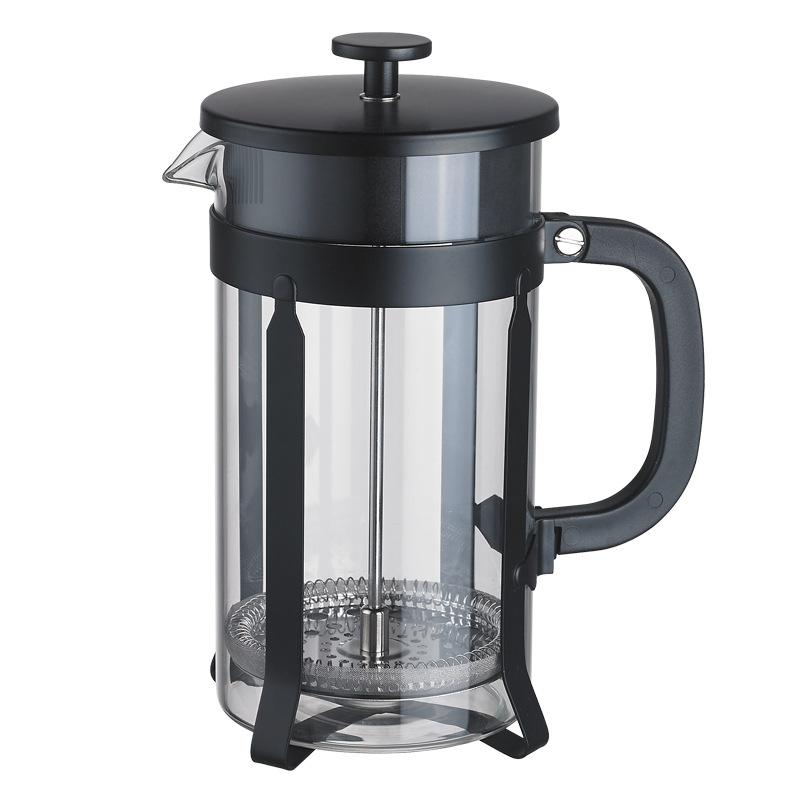 Uniho стеклянный кофейник, французский пресс-горшок, Es пресс, круглая кофеварка, кувшин для кофе, Перколятор, чайник, фильтр, горшок, cafetera expreso(Китай)