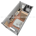 Custom service container hotel for sale easy convenient transportation container for living duplex