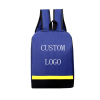 Custom Logo Waterproof Oxford Senior High School Student Backpack Bag for Boys Girls