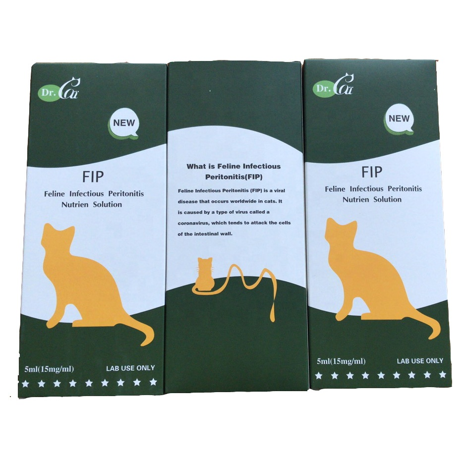 Dr Cat brand FIP Nutrient Solution for lab use GS-441524 liquid