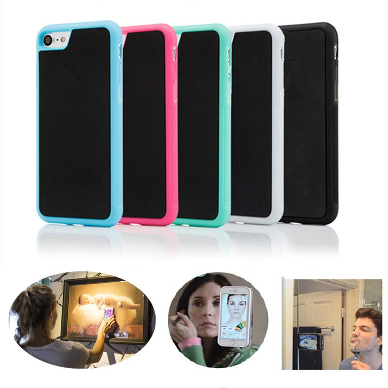 High Quality Mobile Phone Shell for iPhone Xs XR X Anti Gravity Sticky Phone Back <strong>Case</strong> Cover for Smart Phone Anti-gravity <strong>Case</strong>