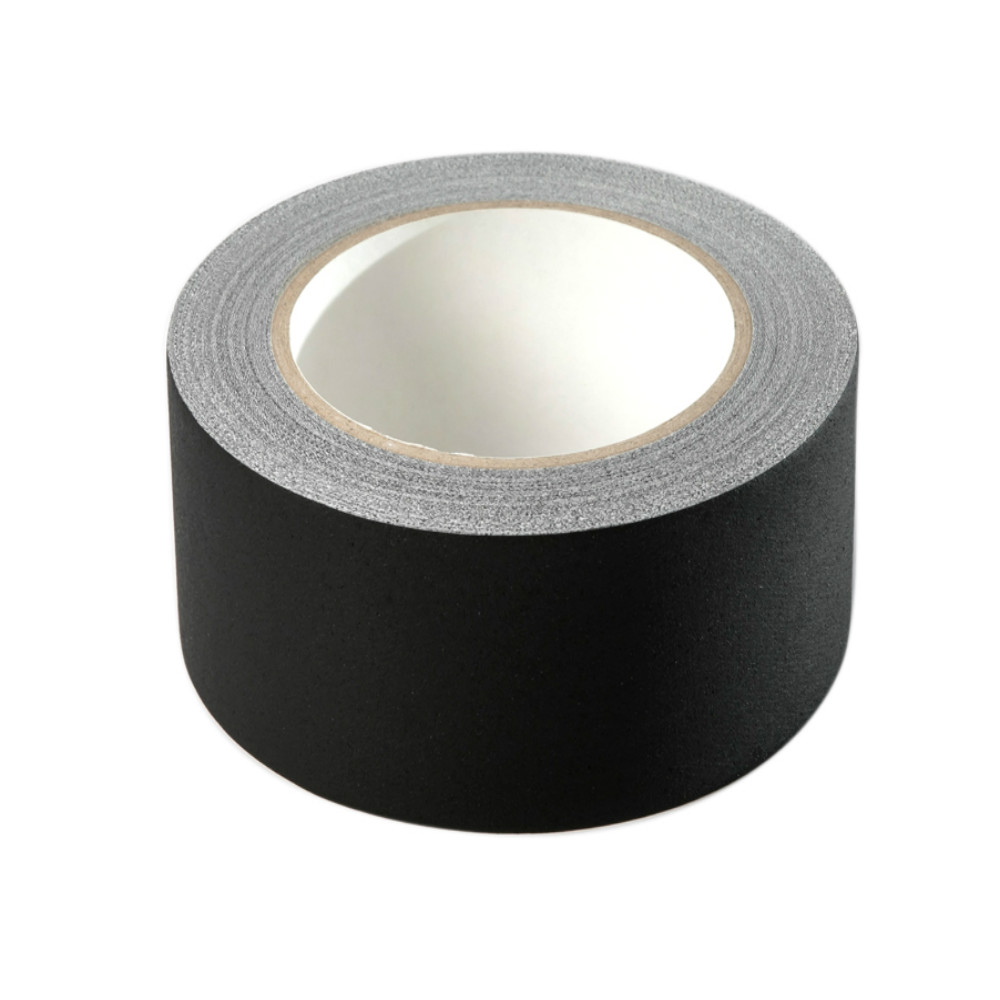 Duct Cloth Adhesive Tape 2Inch * 33Yards Gaffer Tape Non Reflective, Easy to Tear-Black