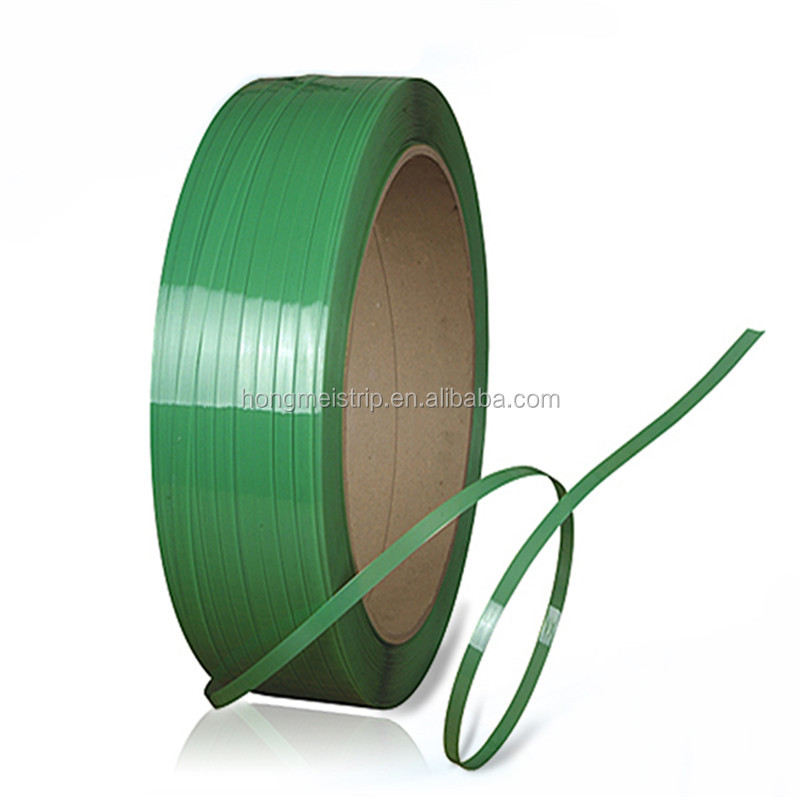 Groen Reliëf plastic strapping roll glad PP Plastic band