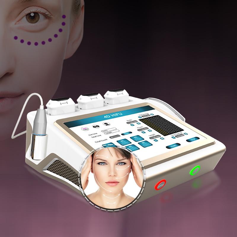 100000 снимков 4D Hifu машина для лифтинга глаз 8 картриджей 3D Hifu для похудения тела машина