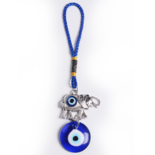 Wholesale 5.9 Inches Turkish Evil Eye Pendant Wall Hangings with elephant