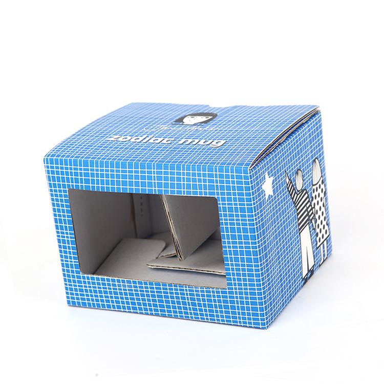 Tùy Chỉnh Bưu Phẩm Hình Dạng In Đầy Đủ Màu Sắc Mỹ Phẩm Bao Bì Hộp Giấy Sóng Vận Chuyển Boxs