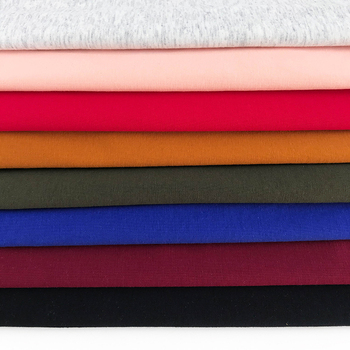 textiles material combed 94%cotton 6%spandex compact siro knitted jersey fabric with cold touch for t shirt