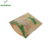 Compostable 100% Ziplock Window Pack Food Seal Biodegradable Kraft Paper Pla Tea Bags