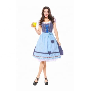 Halloween Sell Maid Outfits Bavarian Oktoberfest Party Sexy Beer Girl Halloween Costumes For Women Plus Size Fancy Dress