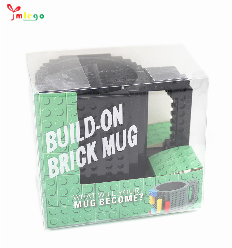2020 Hot Sale Diy Mug Kreatif Build-On Bata Mug Bangunan Blok Puzzle Cangkir Kopi