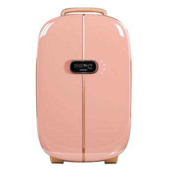 13L 220V Custom portable beauty skincare double door small refrigerator mini fridge