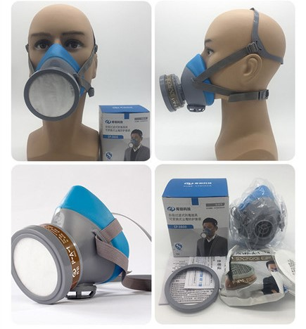 TZCP-3800 Safety works gas mask professional dust mask with filter