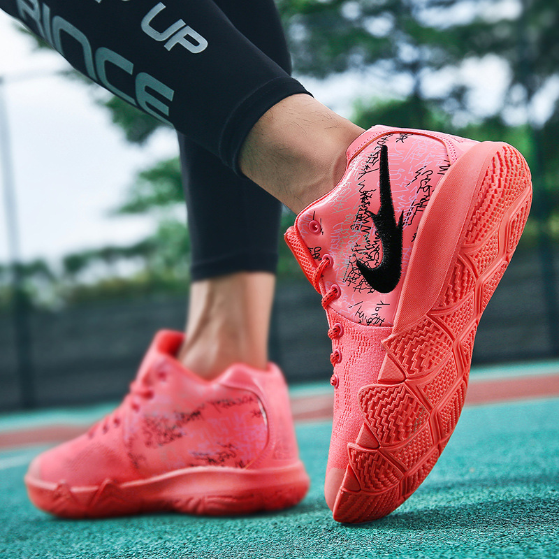 Wholesale Custom Breathable Sport Sneakers High Top Basketball Shoes for Men