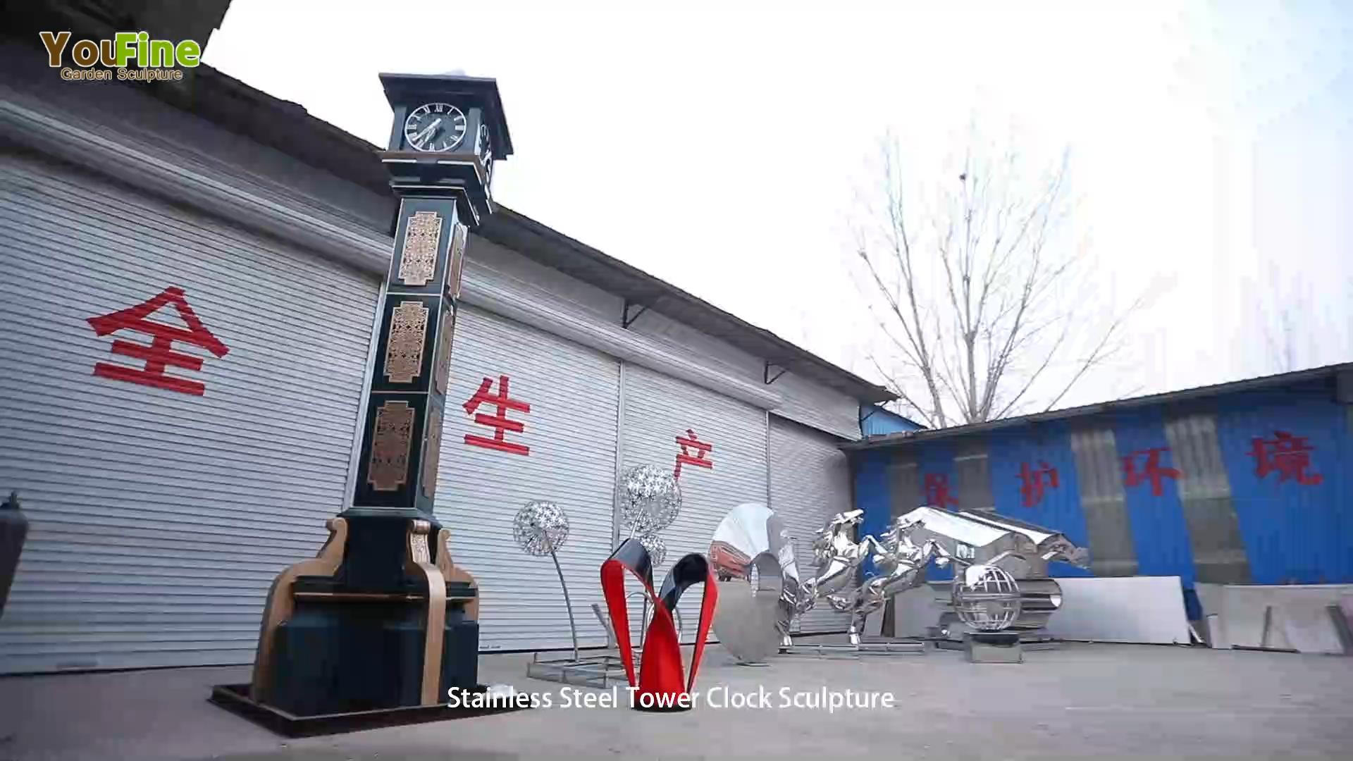 庭の装飾のための大きい現代ステンレス鋼の彫刻