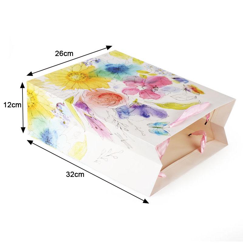 641 Flower Gift Paper Bag, Flower Packing Paper Bag, Flower Paper Bag