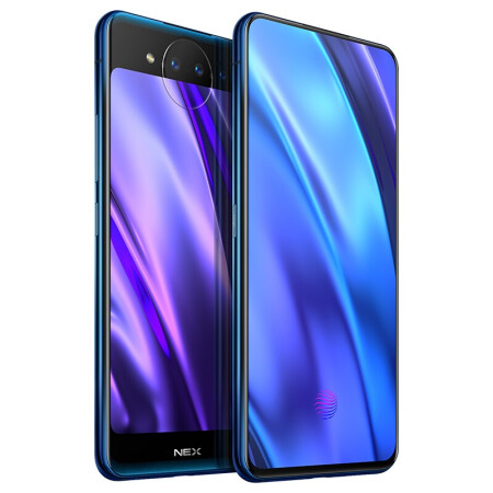 Global Rom Vivo Nex Dual Screen Mobile Phone Android Snapdragon 845 Octa Core 10G+128G 3D TOF Night Vision Screen Fingerprint фото