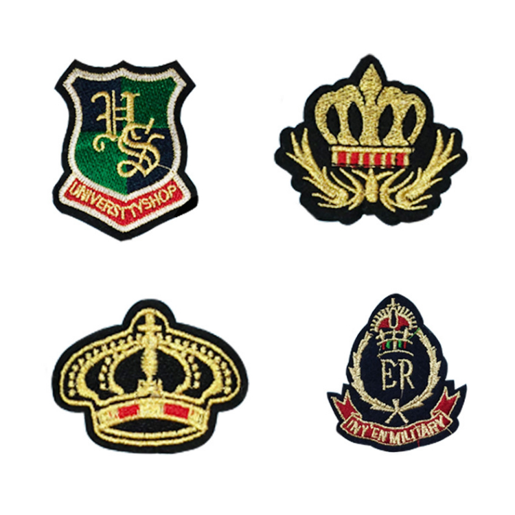 Embroidery Design Your Own Lightning Patches Sewing Chenille Embroidered 3d Badge