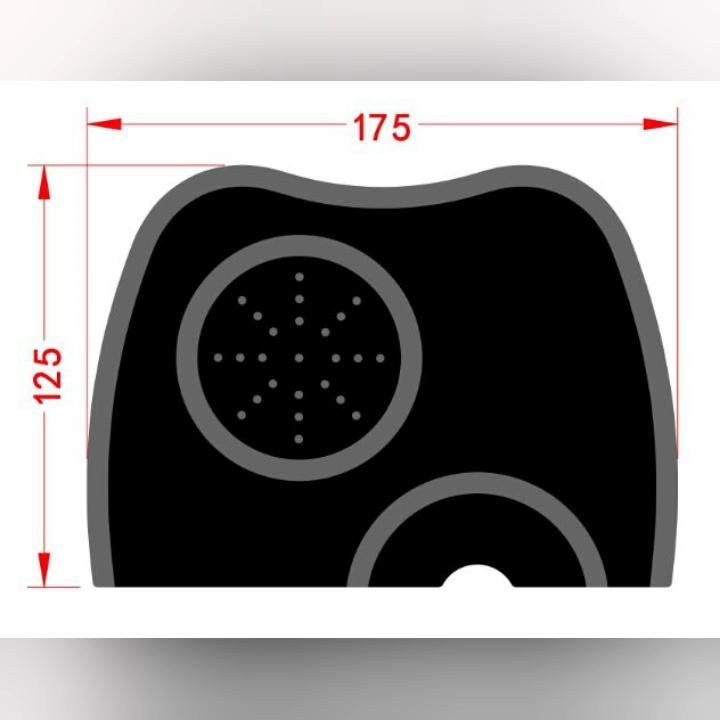 Nouveaux Arrivants 2020 écologique M taille Silicone Souple Café Tassez Tapis Silicone expresso tapis de bourrage