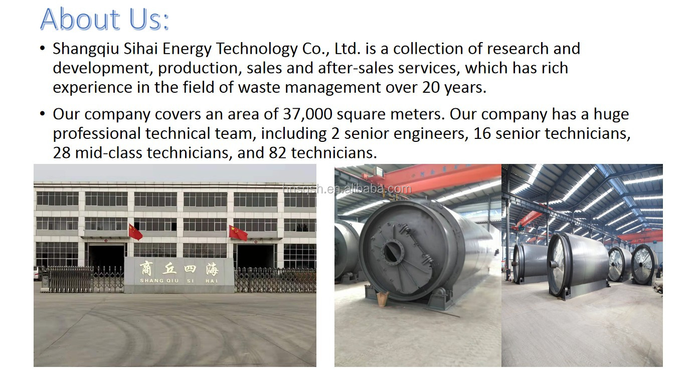 12 TPD Used Tire Recycling Machine