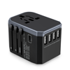 Wholesale World AU EU UK US Plug Travel Adaptor USB Charger International Power Adapter