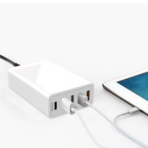 EU US UK AU Certificate PD 40W 45W USB pd type c charger with usb cable plug