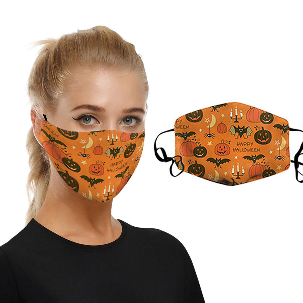 Wholesale Fashion Reusable Washable Funny Printed <strong>Custom</strong> Design <strong>Halloween</strong> Face Party <strong>Masks</strong>
