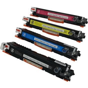 compatible refill color toner cartridge for hp laser jet printer CF350 CF351CF352CF353 CP1025 M175a