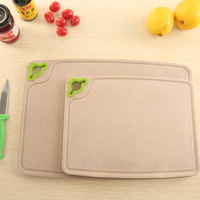 Hot Selling Wholesale Cheap Household Plastic Double Cutting Board Home Kitchen Supply