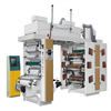6 colour flexo printing machine label doctor blade flexo printing machine