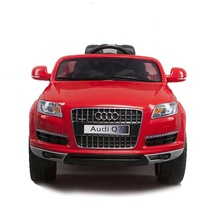 Audi q7 suv baby ride on toy electric car kids remote with 12v battery