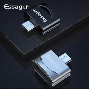Free shipping2019  Essager USB Type C OTG Adapter For Samsung Note 9 One Plus 6t 5 Xiaomi mi 8 , Type-C To USB 3.0 OTG Converter