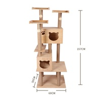 unique kitty cats tree house large