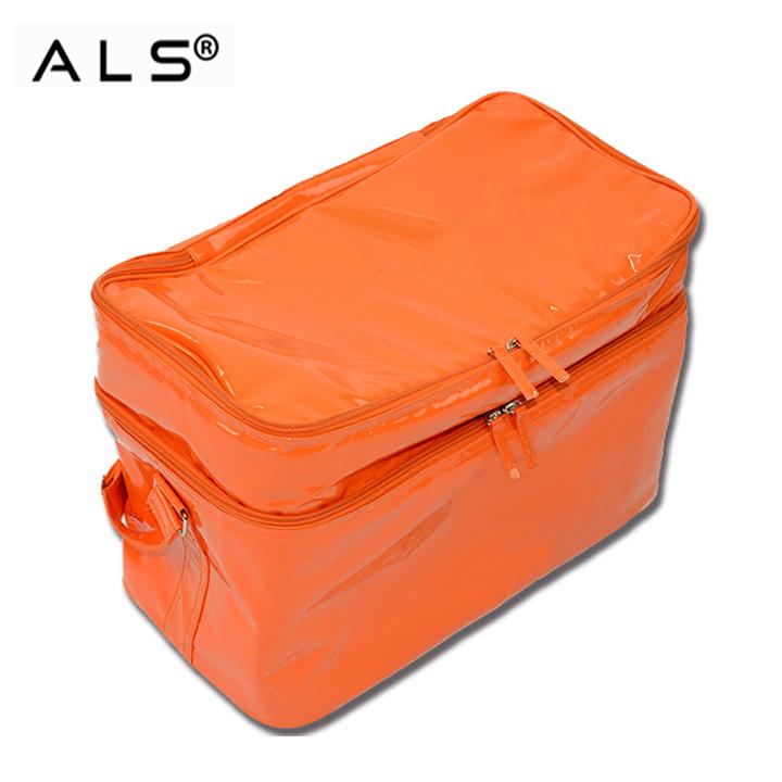 Nuovo fashional professionale pranzo al sacco sacchetto del dispositivo di raffreddamento per alimenti congelati/consegna di cibo sacchetto più freddo