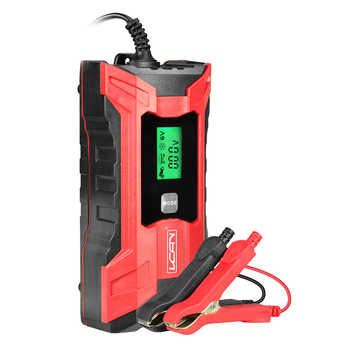 Tester led lights portable battery air compressor 12v float sony handycam booster car jump starter battery charger