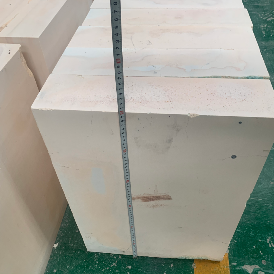 Used AZS block second hand electrical fused brick used for glass furnace