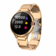 2019 Gold Health Care Heart Rate Monitor Reloj Inteligente IP67 Waterproof CE Rohs Smart Watch