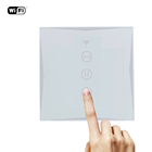 Waterproof Dirtyproof Home Wireless Touch Glass Roller Shutter Smart Curtain Control Switch For kitchen Bathroom
