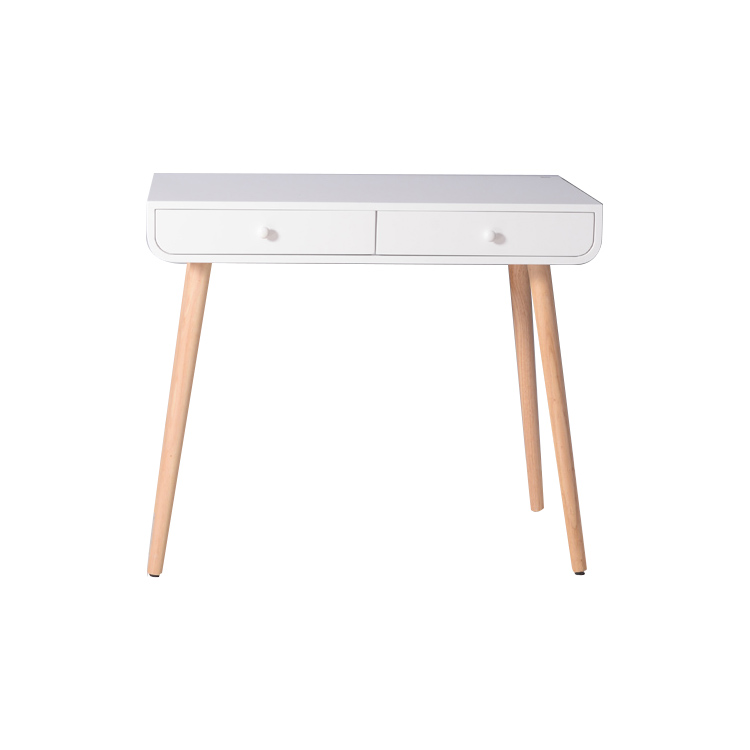 white customizable with LED light high-quality wood-like material Dressing table