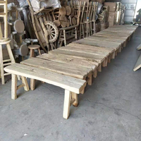 wholesale chinese antique rustic reclaimed elm wood bench