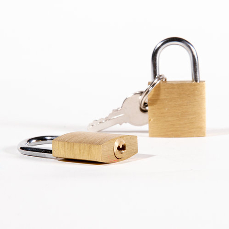 Travelsky High Quality simple travel small luggage brass pad key lock