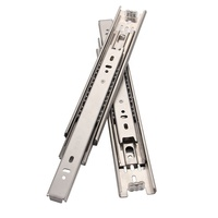 45mm SS304 201 stainless steel drawer slides high quality kitchen cabinet jieyang hardware