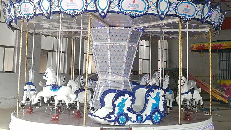 Mini fahrgeschäfte kleine merry go round karussell pferde für verkauf