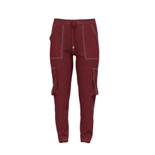 Custom Logo 100% Cotton Overall Loose Oxford City Trends Women Pants Pockets Pants
