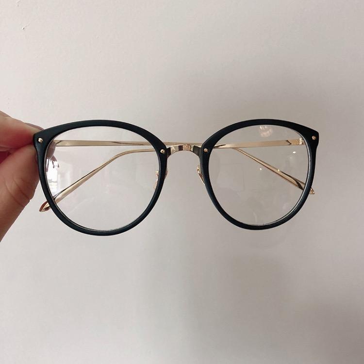Винтаж оптический Рамки круглый глаз очки рамки мода унисекс дизайнер солнцезащитные очки для женщин рамки