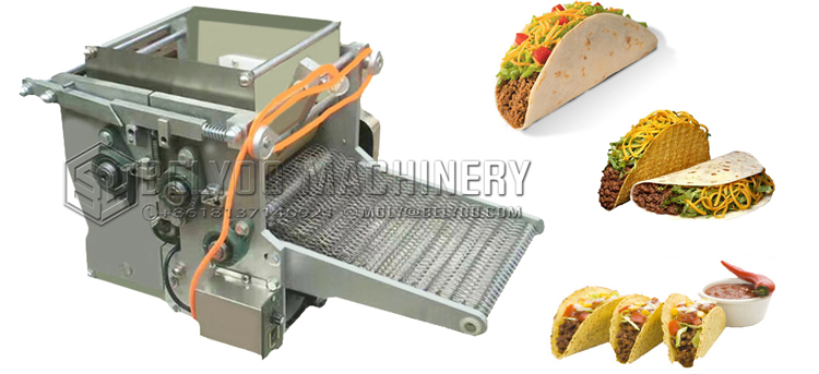 Fully automatic electric 6'' tacos tuesday maize tacos corn tortilla maker machine