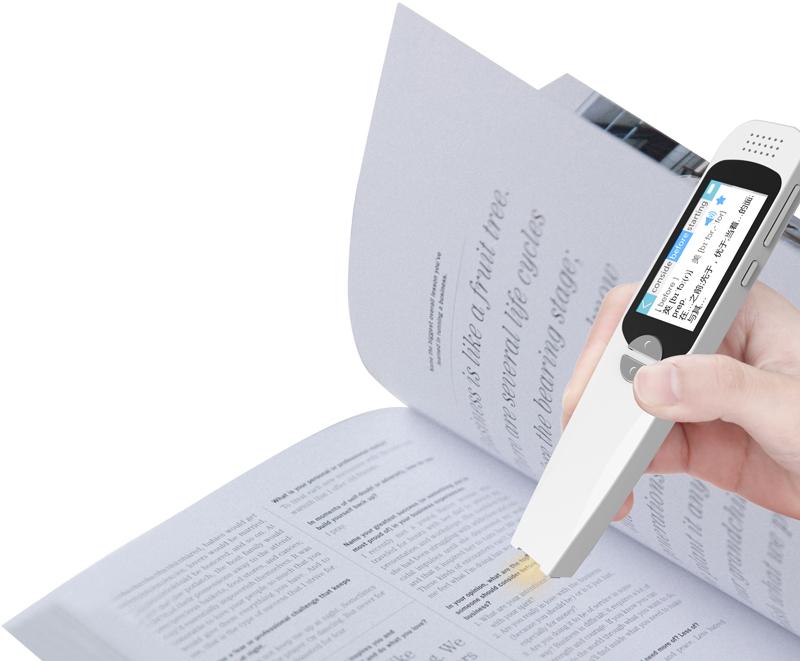 En iyi fonksiyonel dil öğrenme makinesi tarayıcı sözlük mobil tarama konuşan çevirmen kalem çevirmek